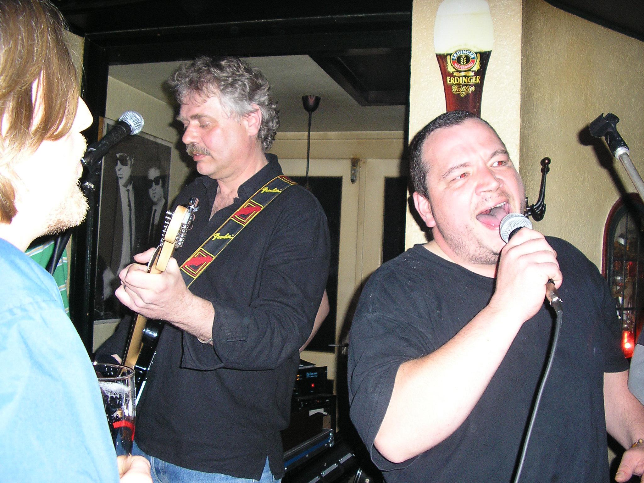 Martin singt